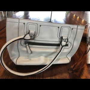 Nordstrom Bags - Nordstrom White Leather Purse